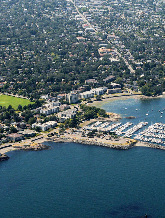 Aerial-Oak-Bay-and-Marina